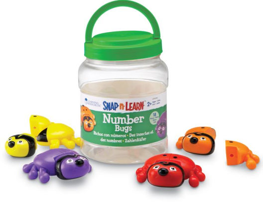 PLAYWELL - SNAP 'N LEARN - CHIFFRES INSECTES