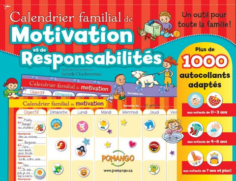 CALENDRIER MOTIVATION/RESPONSABILITE