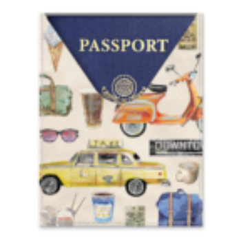ETUI PASSEPORT - ESCAPADE