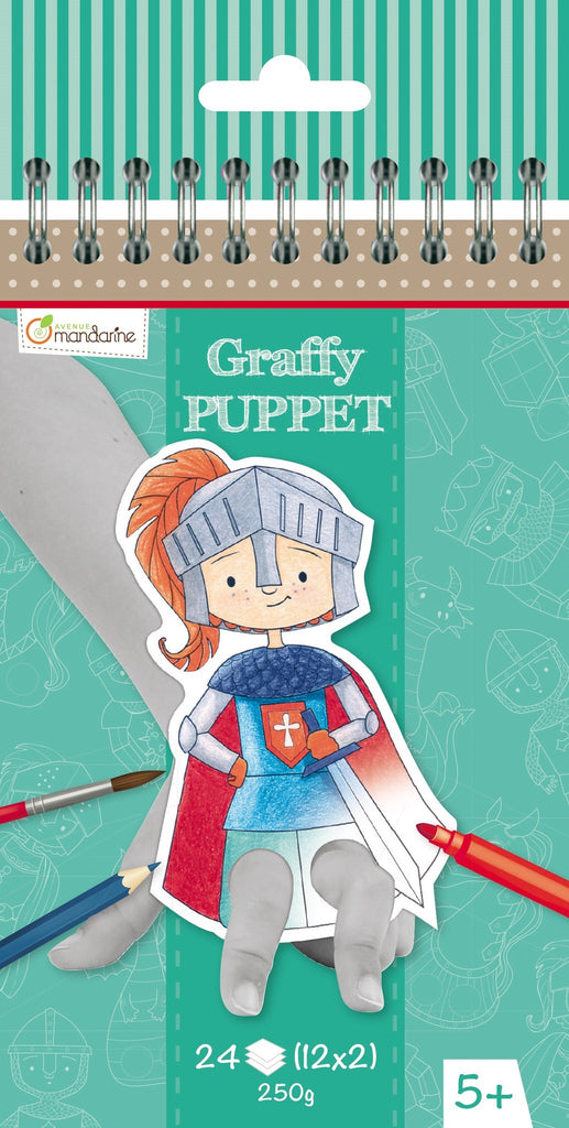 GRAFFY PUPPET - DRAGONS & CHEVALIERS
