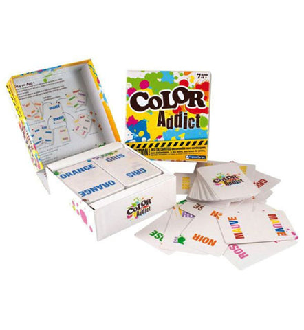 FRANCE CARTES - JEU COLOR ADDICT
