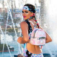 Princess Flip Sequin Backpack Freedom Rave Wear