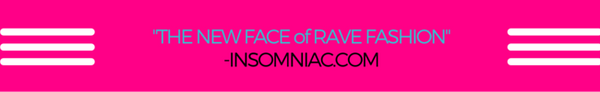 Freedom Rave Wear Insomniac Rave Fashion Banner