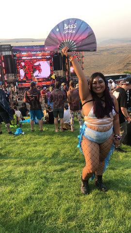 cd050d2bf654 Some festival favorites were tie die Bass Canyon t-shirts