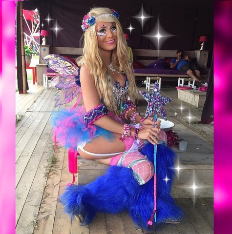 Rave girl fairy