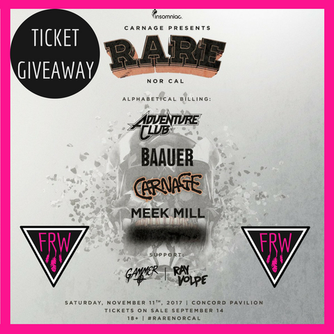 rare ticket giveaway
