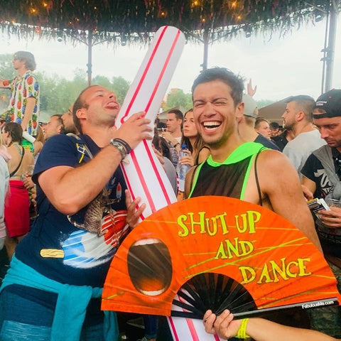 shut up and dance fan