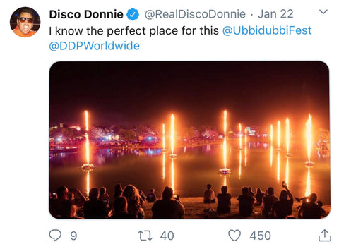 Disco Donnie Tweet