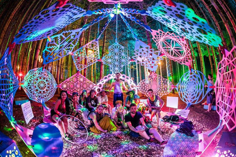 Have you ever experienced the art installations at Electric Forest?