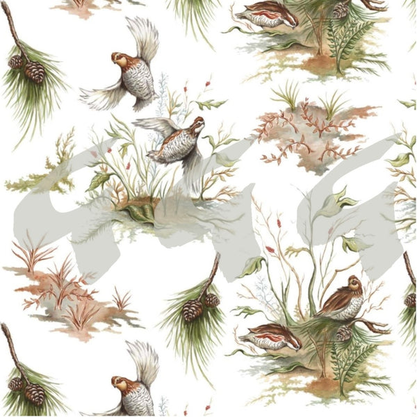 Wildlife Fabrics - Bobwhite Covey & Flight