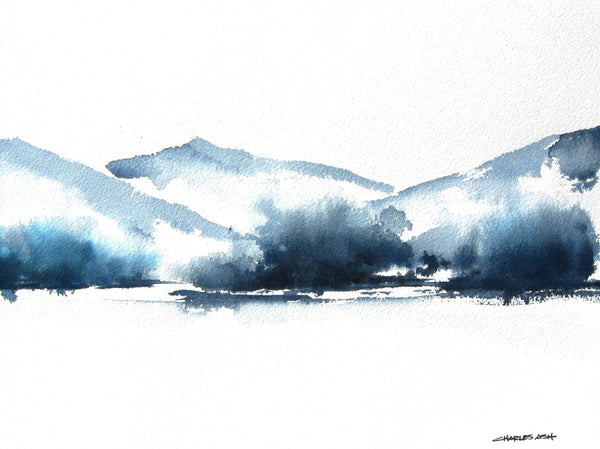 Highlands II - Original Watercolor Painting
