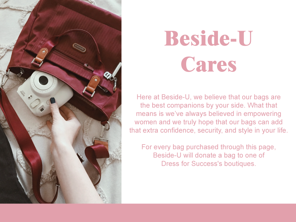 Beside-U Dress For Success Beside-U Cares Page Image