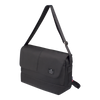 Crossbody Bag - Granite Messenger Bag Angled [Black]