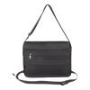 Crossbody Bag - Granite Messenger Bag Back Black