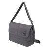 Crossbody Bag - Granite Messenger Bag Angled [Flake Black]