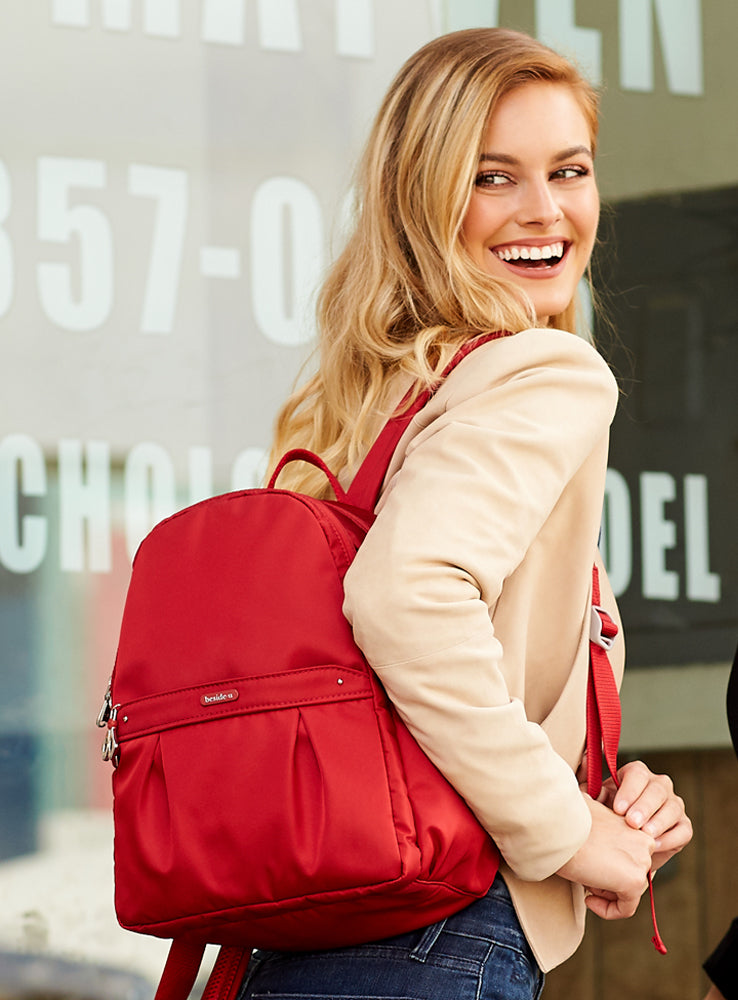 Backpack - Vista Backpack Model Honey Red