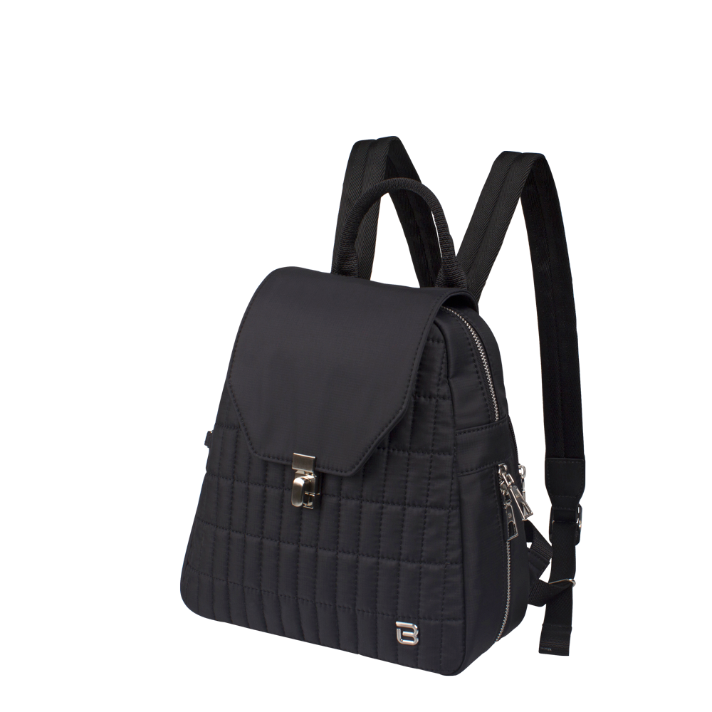 Backpack - Ronda Medium Backpack Angled [Black]