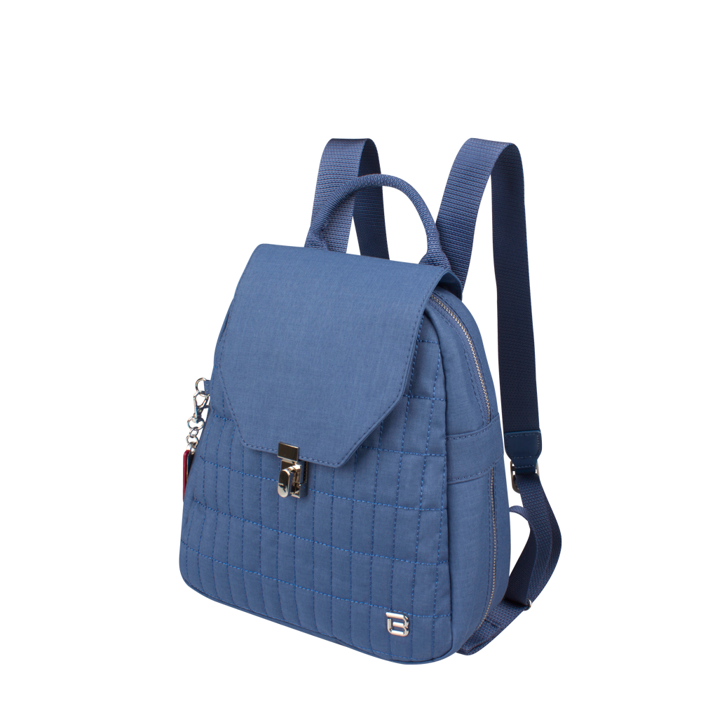 Backpack - Ronda Medium Backpack Angled [Blue Frost]