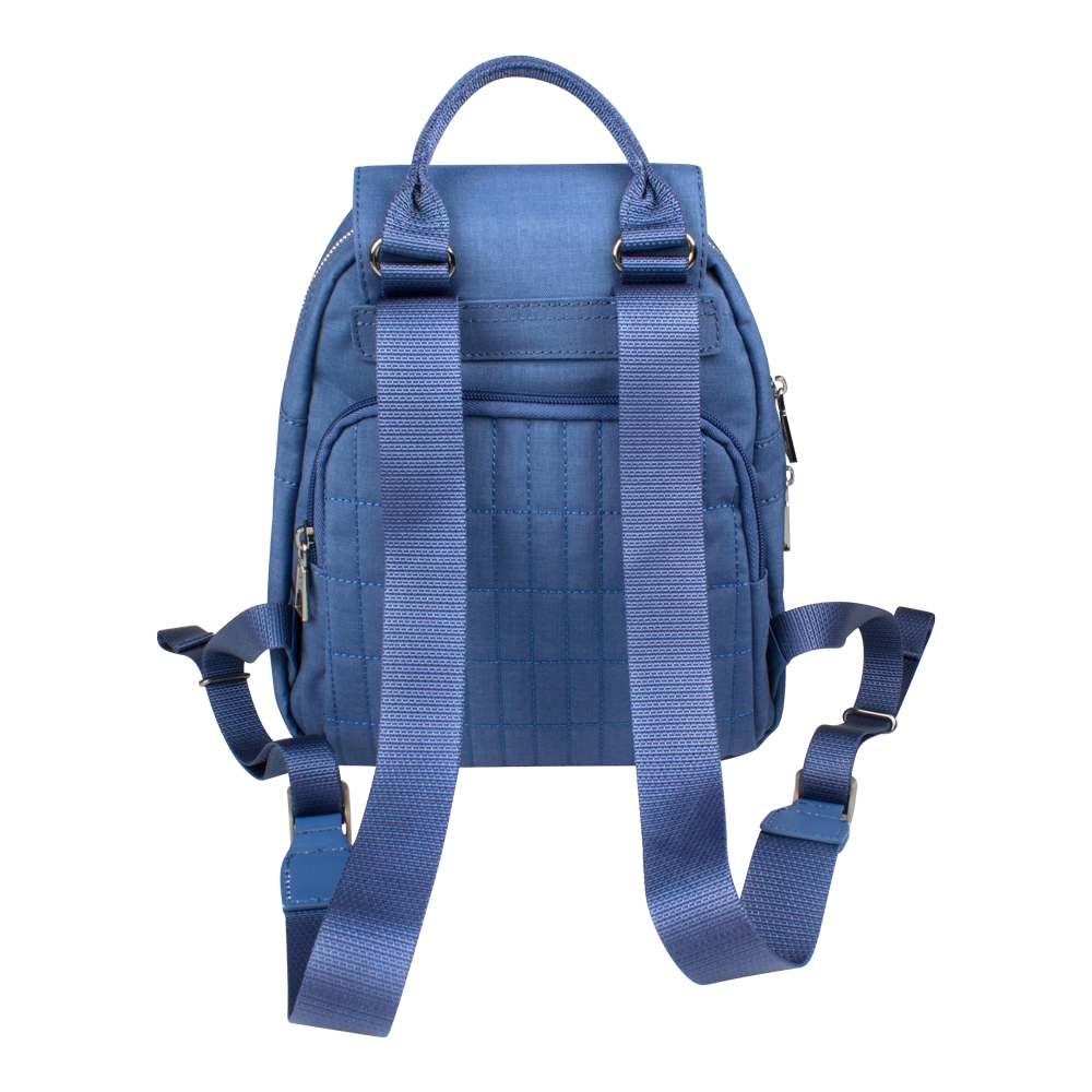 Backpack - Ronda Medium Backpack Back Blue Frost