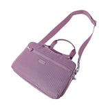 Paula Debossed Convertible Satchel Handbag Grapeade Purple Lying Down [Grapeade Purple]