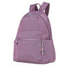 Cameron Debossed City Backpack Grapeade Purple Angled [Grapeade Purple]