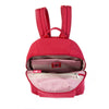 Cameron Debossed City Backpack Fiery Red Inside [Fiery Red]