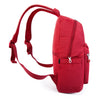Cameron Debossed City Backpack Fiery Red Side [Fiery Red]