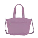 Tote Bag - Kamala Debossed Convertible Tote Bag Grapeade Purple Back [Grapeade Purple]