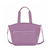 Tote Bag - Kamala Debossed Convertible Tote Bag Grapeade Purple Front [Grapeade Purple]
