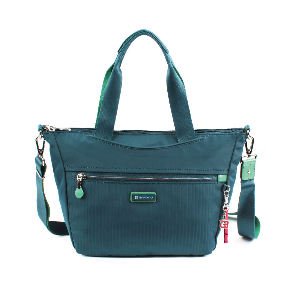 Satchel Handbag - Ellie Two Ways Handbag Front [Orion Blue]