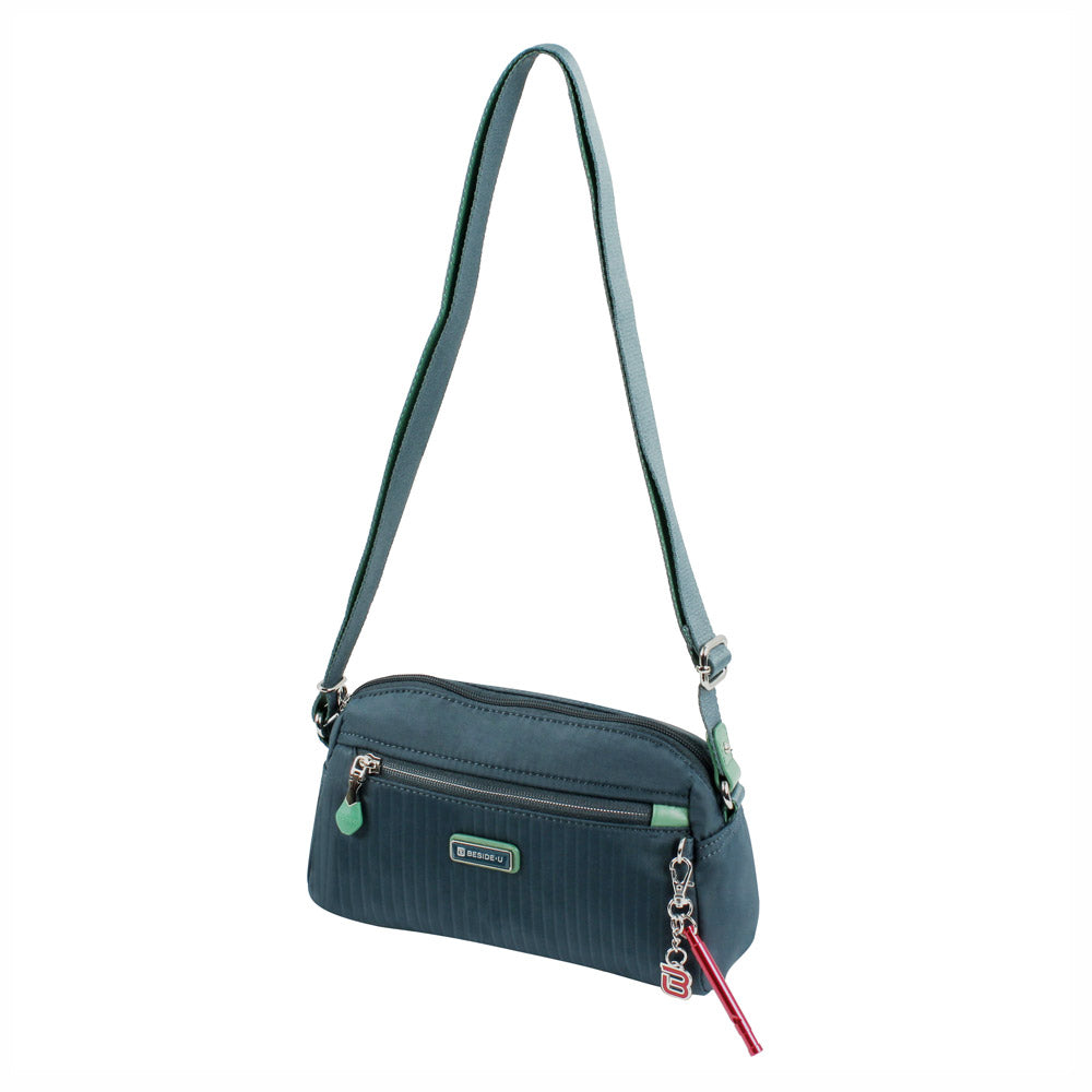 Crossbody Bag - Roseway Crossbody Bag Angled [Orion Blue]