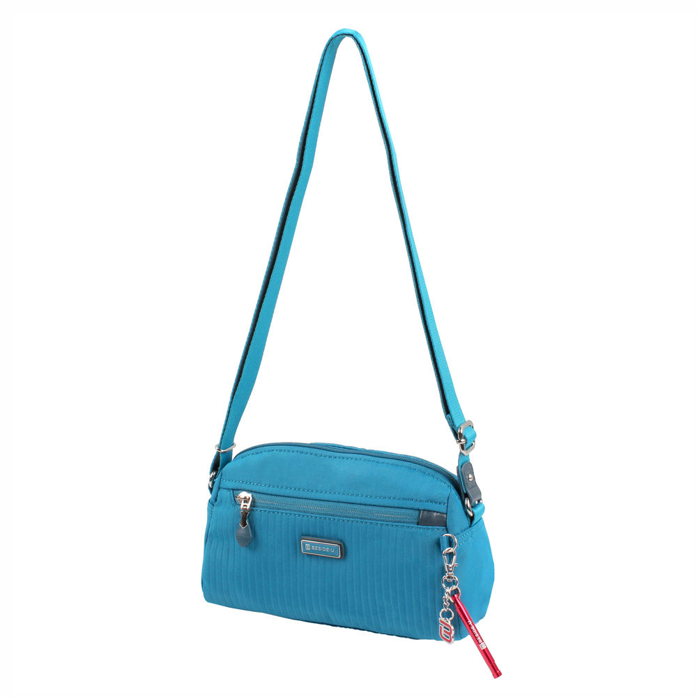 Crossbody Bag - Roseway Crossbody Bag Angled [Joyful Blue]