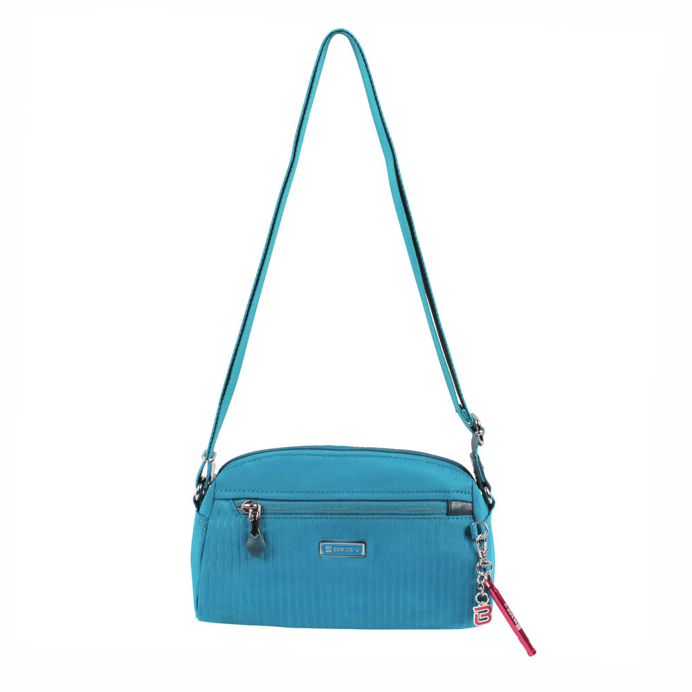 Crossbody Bag - Roseway Crossbody Bag Front [Joyful Blue]