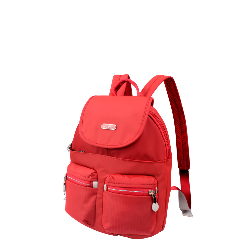 Backpack - Karla Small Backpack Angled [Fiery Red]
