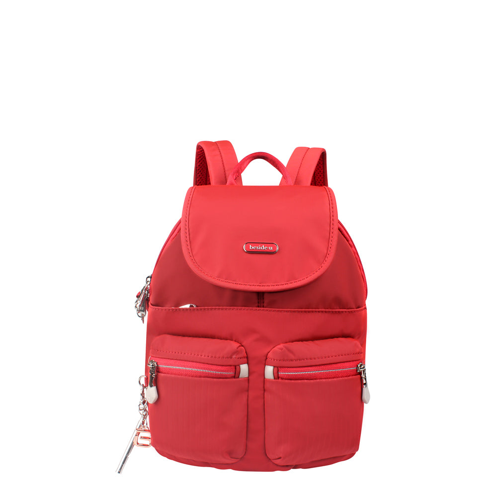 Backpack - Karla Small Backpack Front [Fiery Red]