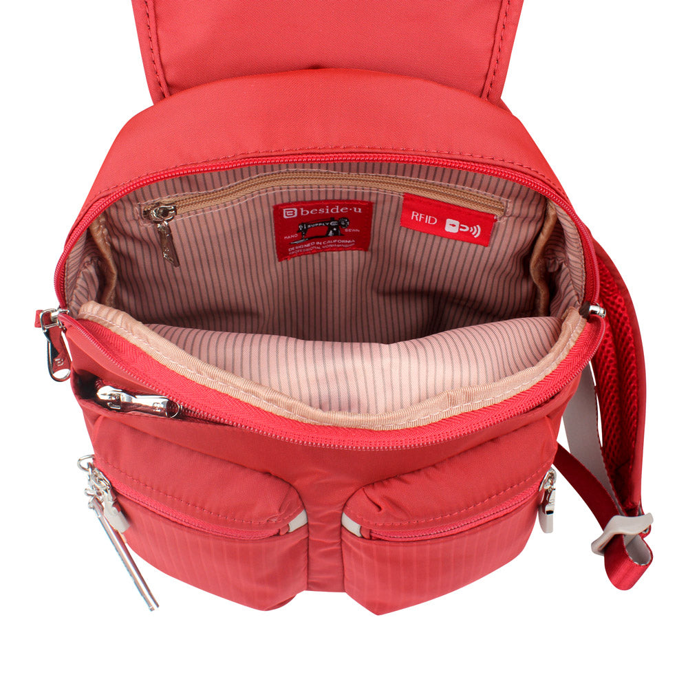 Backpack - Karla Small Backpack Inside [Fiery Red]