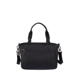 Satchel Handbag - Riley Satchel Bag Back Black