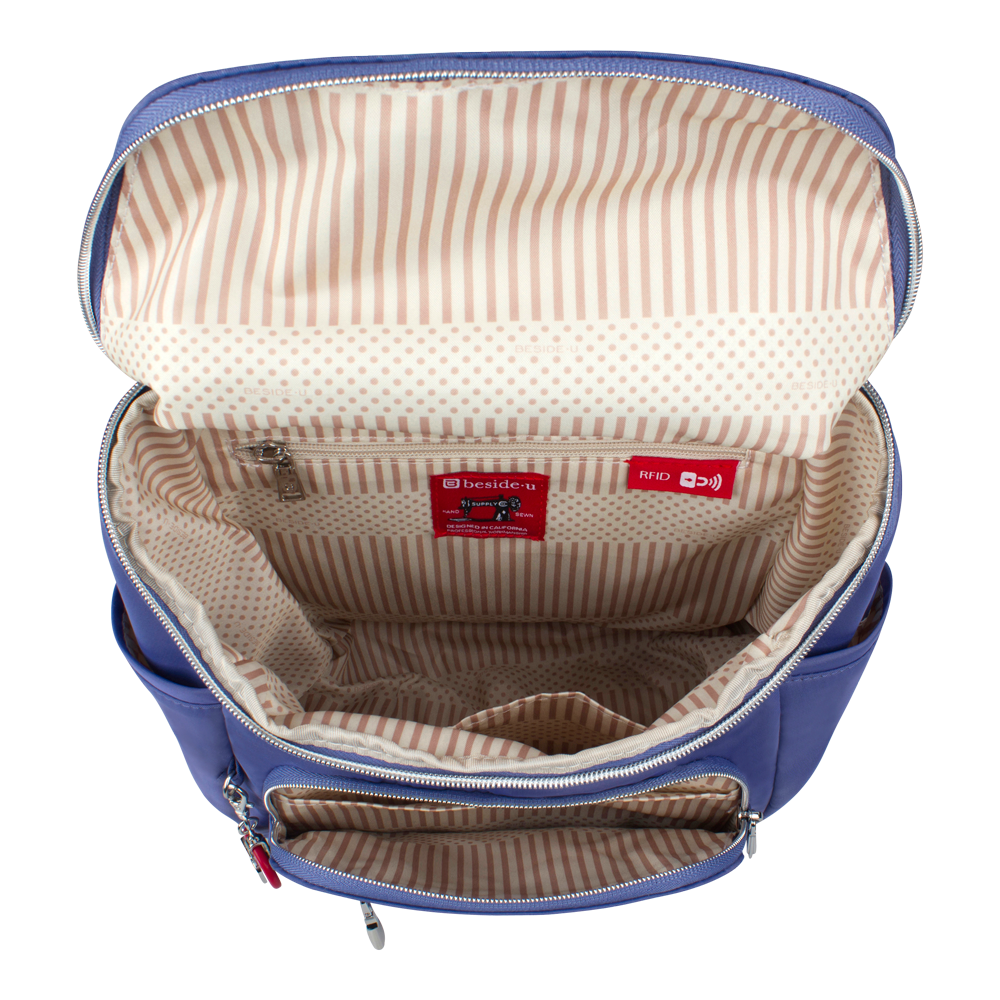 Backpack - Hancock Backpack Inside Marine Blue