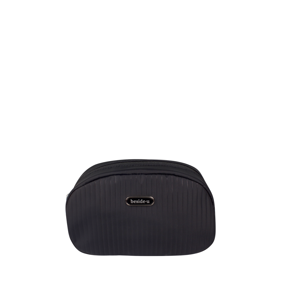 Cosmetic Pouch - Elysian Cosmetic Pouch Front Black