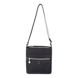 Crossbody Bag - Mila Crossbody Bag Front Black Logo