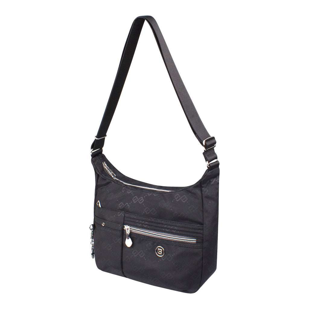 Crossbody Bag - Mirage Crossbody Bag Angled [Black Logo]
