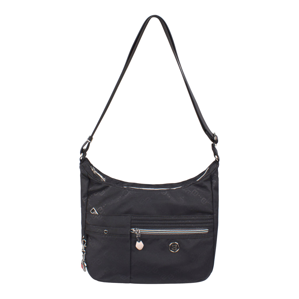 Crossbody Bag - Mirage Crossbody Bag Front Black Logo