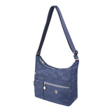 Crossbody Bag - Mirage Crossbody Bag Angled [Blue Logo]