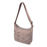 Crossbody Bag - Mirage Crossbody Bag Angled [Brown Logo]