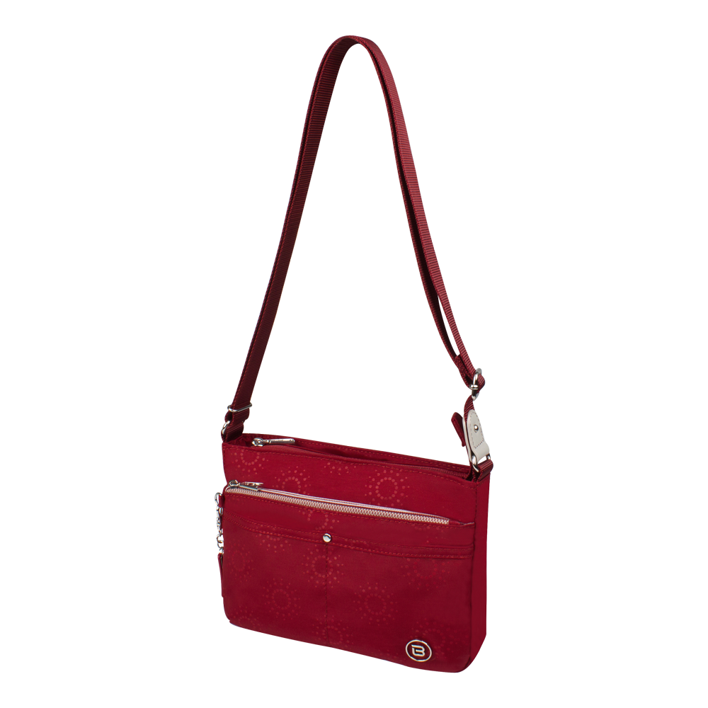 Crossbody Bag - Hollyridge Crossbody Bag Angled [Ruby Red]