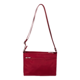 Crossbody Bag - Hollyridge Crossbody Bag Back Ruby Red
