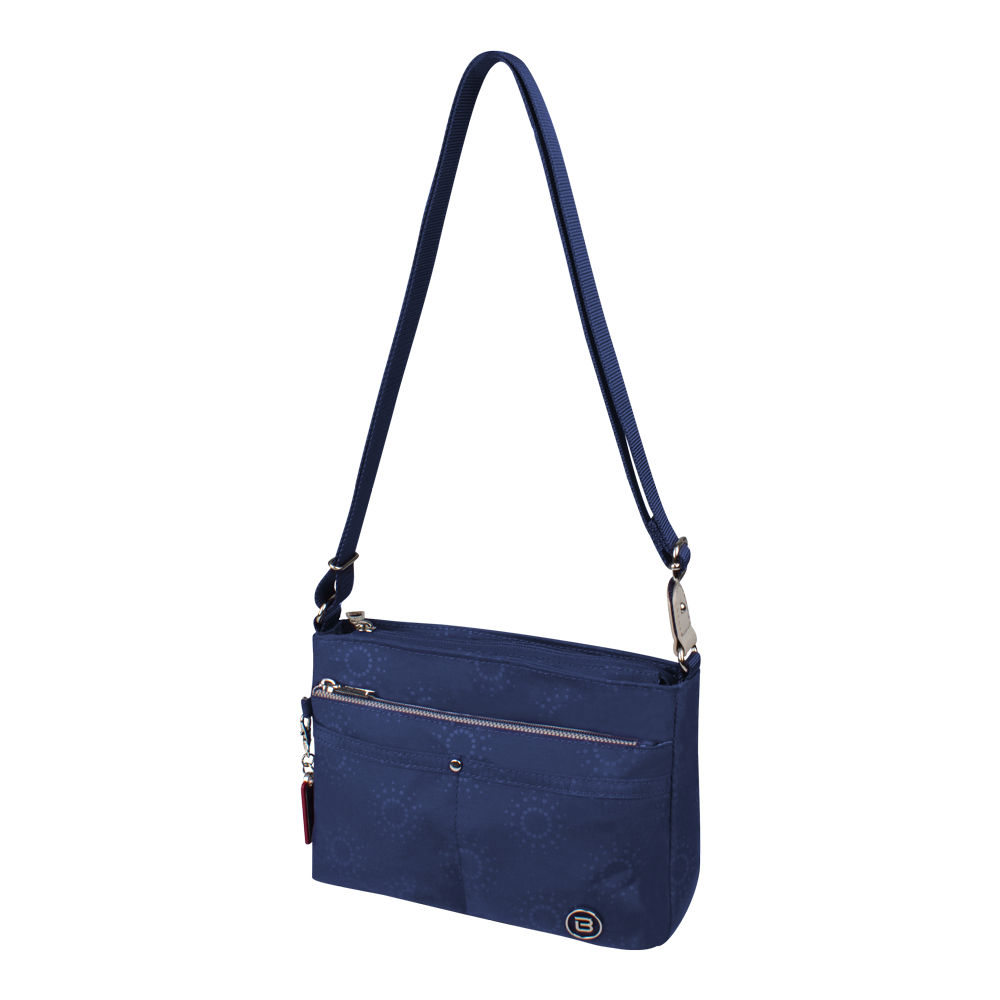 Crossbody Bag - Hollyridge Crossbody Bag Angled [Comet Blue]