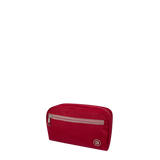 Cosmetic Pouch - Reef Cosmetic Pouch Angled [Ruby Red]