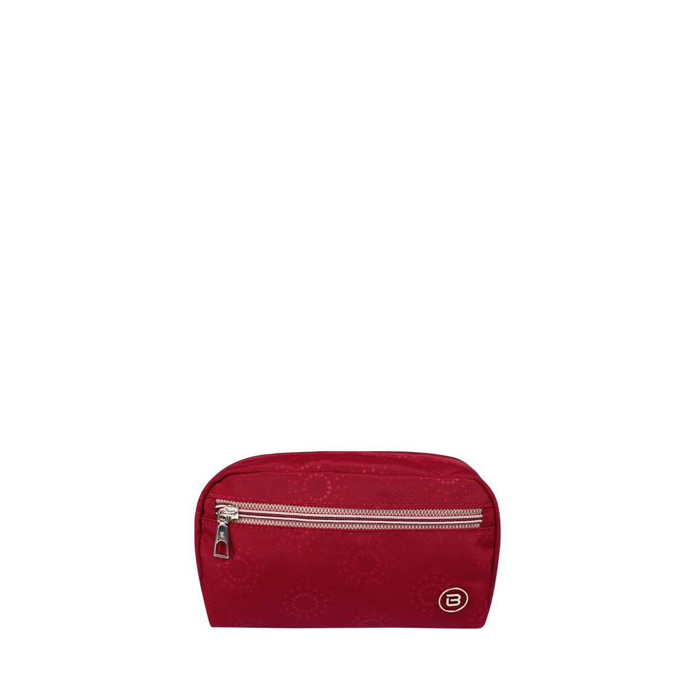 Cosmetic Pouch - Reef Cosmetic Pouch Front Ruby Red