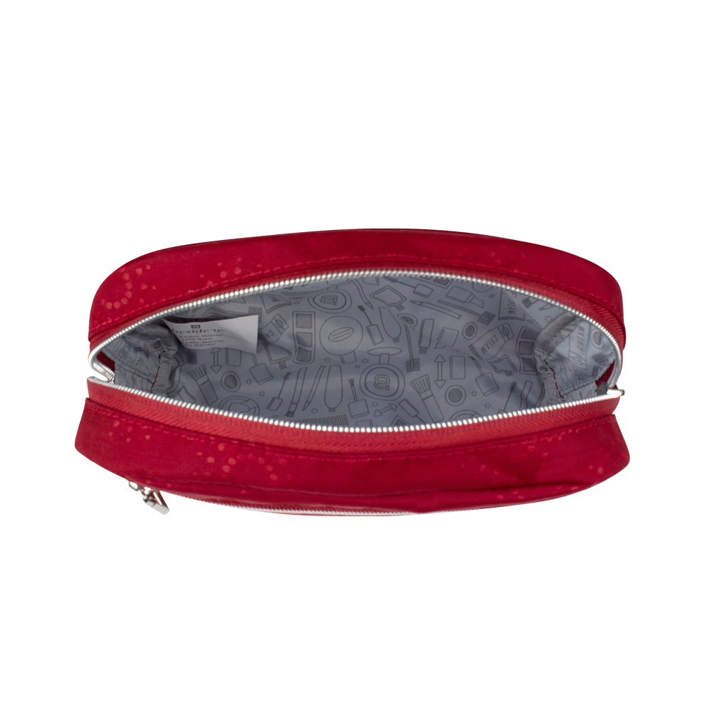 Cosmetic Pouch - Reef Cosmetic Pouch Inside Ruby Red